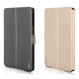 【iPad mini3/2/1 ケース】Dual Face Flip Case SYKES BASIC Champagne Gold/Space Grey