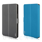 【iPad mini3/2/1 ケース】Dual Face Flip Case SYKES BASIC Space Gray/Ocean Blue