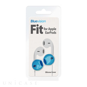 【iPhone iPod】Fit for Apple EarPods Neon Blue