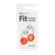 【iPhone iPod】Fit for Apple EarPods Neon Orange