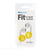【iPhone iPod】Fit for Apple EarPods Neon Yellow