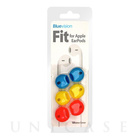 【iPhone iPod】Fit for Apple EarPods 3 Pack Neon Orange/Neon Blue/Neon Yellow
