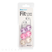 【iPhone iPod】Fit for Apple EarPods 3 Pack Pink/Purple/White