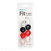 【iPhone iPod】Fit for Apple EarPods 3 Pack White/Black/Red
