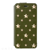 【iPhone6s/6 ケース】607LE Star's Case Limited Edition (オリーブ)