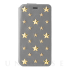 【iPhone6s/6 ケース】607LE Star's Case Limited Edition (シルバー)