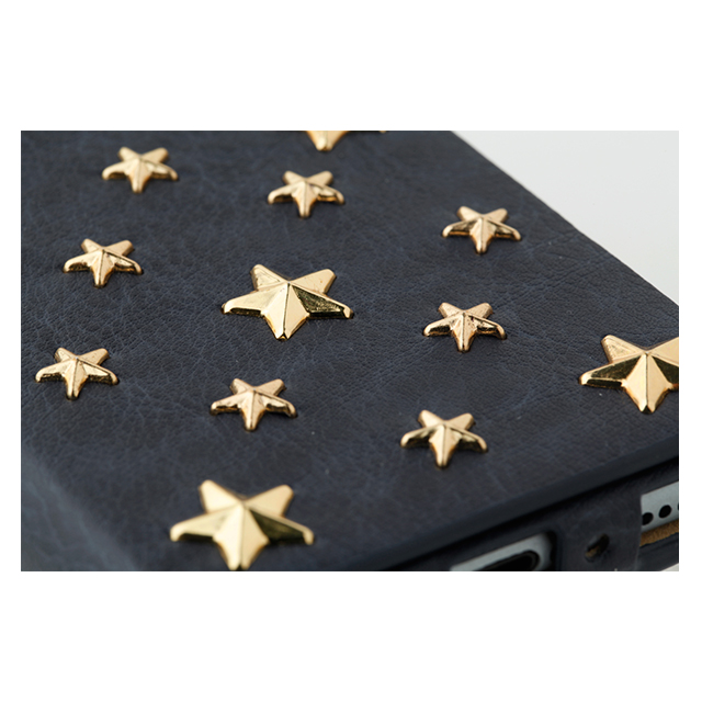 【iPhone6s/6 ケース】607LE Star's Case Limited Edition (ネイビー)サブ画像