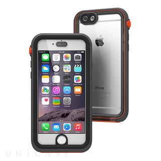 iPhone6 ケース Catalyst 完全防水ケース ブラックオレンジ