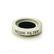 SCOOP LENS SYSTEM マグネット式フィルター ND200 SILVER