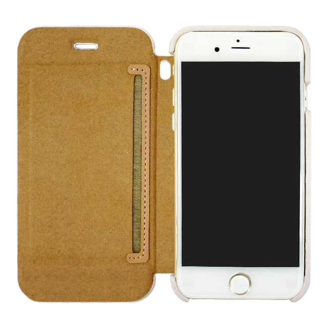 【iPhone6s/6 ケース】SAL by amadana PU LEATHER CASE for iPhone6s/6 (WHITE)サブ画像