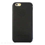 【iPhone6s/6 ケース】TRANS CONTINENTS LEATHER CASE for iPhone6s/6 (Black)