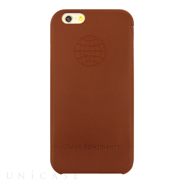 36dc00903d 【iPhone6s/6 ケース】TRANS CONTINENTS LEATHER CASE for iPhone6s/6 (Brown