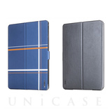 【iPad mini3/2/1 ケース】Dual Face Flip Case SYKES MIX Blue Checker/Space Grey