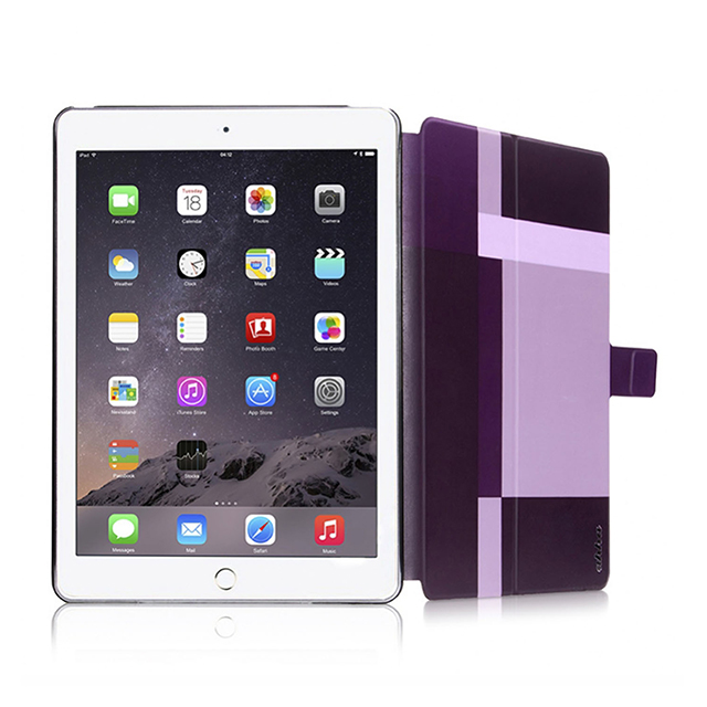 【iPad Air2 ケース】Dual Face Flip Case SYKES MIX Purple ...