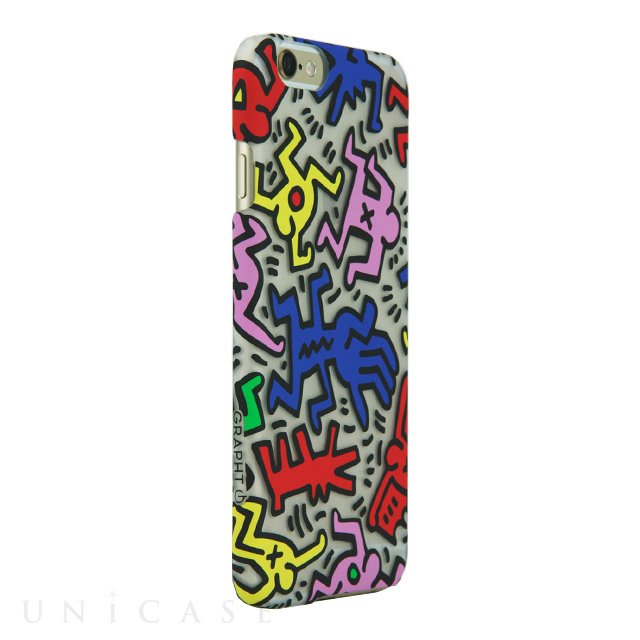 【iPhone6 ケース】Keith Haring Collection Ice Case Chaos/Clear