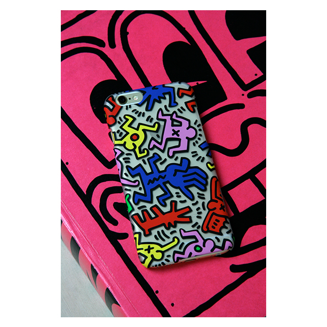 【iPhone6 ケース】Keith Haring Collection Ice Case Chaos/Clearサブ画像