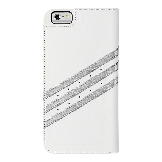 【iPhone6s/6 ケース】Booklet Case (White/Silver)サブ画像