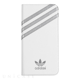 【iPhone6 ケース】adidas Booklet Case White/Silver