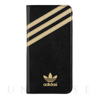 【iPhone6s Plus/6 Plus ケース】Booklet Case (Black/Gold)