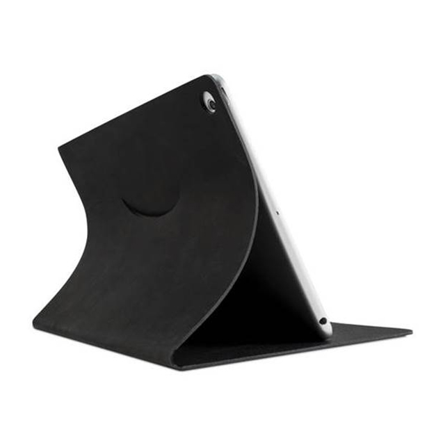 【iPad Air2/Air ケース】Leather Cover ブラックサブ画像