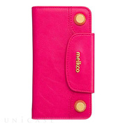 【iPhone6s/6 ケース】Sarina Series - BonBon Collection Flap Type Phone Case (Fuchsia)
