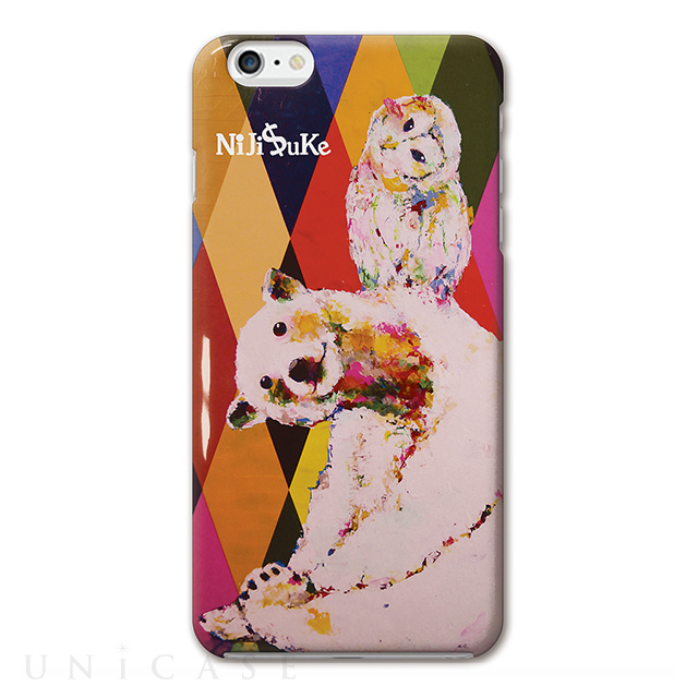 【iPhone6s Plus/6 Plus ケース】NiJi$uKe シロクマ