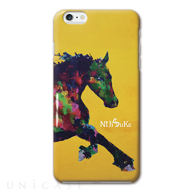 【iPhone6s Plus/6 Plus ケース】NiJi$uKe (馬2)