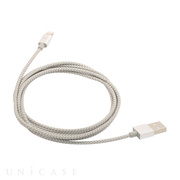 Aluminum Lightning Cable (シルバー)