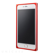 【iPhone6s Plus/6 Plus ケース】Straight Metal Bumper (Red)