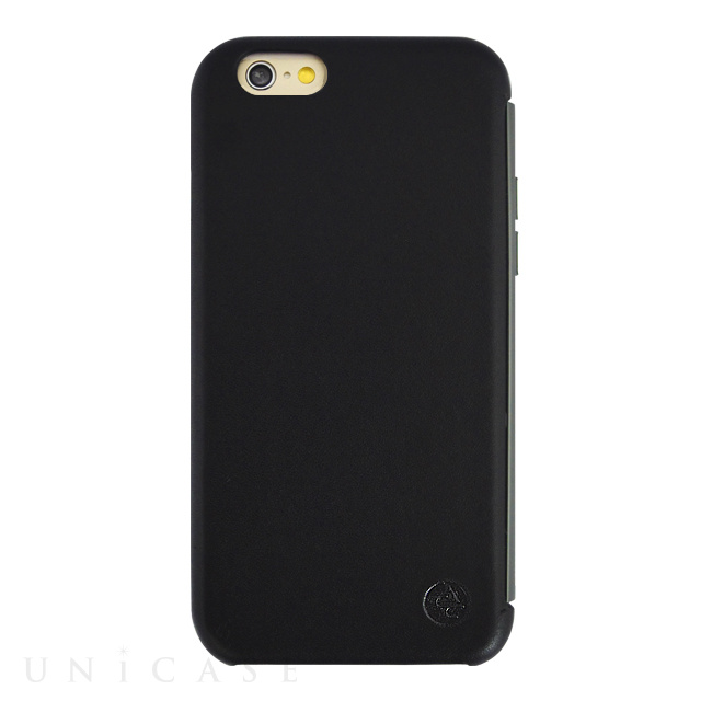 【限定】【iPhone6s/6 ケース】amadana LEATHER CASE for iPhone6s/6(BLACK)