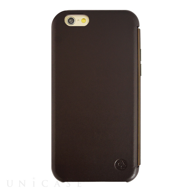 【限定】【iPhone6s/6 ケース】amadana LEATHER CASE for iPhone6s/6(BROWN)