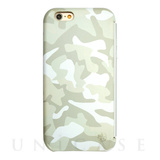 【iPhone6s/6 ケース】amadana LEATHER CASE for iPhone6s/6(WHITE X CAMO)