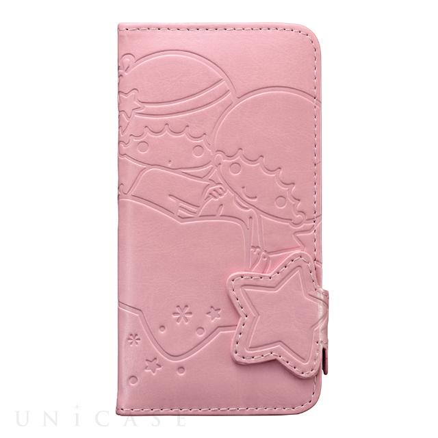 【iPhone6s/6 ケース】リトルツインスターズ ダイカットダイヤリーカバー (スターズ)