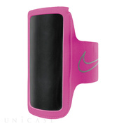 NIKE LIGHTWEIGHT ARM BAND (ピンクポウ/シルバー)