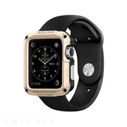 【AppleWatch Series1(42mm) ケース】Tough Armor (Champagne Gold)