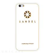 【iPhone6s Plus/6 Plus ケース】BANDEL Logo (White×Gold)