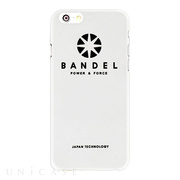 【iPhone6s Plus/6 Plus ケース】BANDEL Hardcase Logo (White)