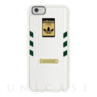 【iPhone6s/6 ケース】1969, White/Green Layered