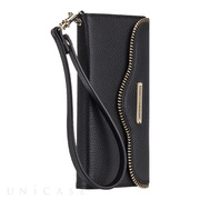 【iPhone6s/6 ケース】REBECCAMINKOFF Leather Folio Wristlet (Black)