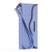 【iPhone6s/6 ケース】REBECCAMINKOFF Leather Folio Wristlet (Bluebell)