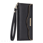 【iPhone6s Plus/6 Plus ケース】REBECCAMINKOFF Leather Folio Wristlet (Black)