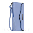 【iPhone6s Plus/6 Plus ケース】REBECCAMINKOFF Leather Folio Wristlet (Bluebell)