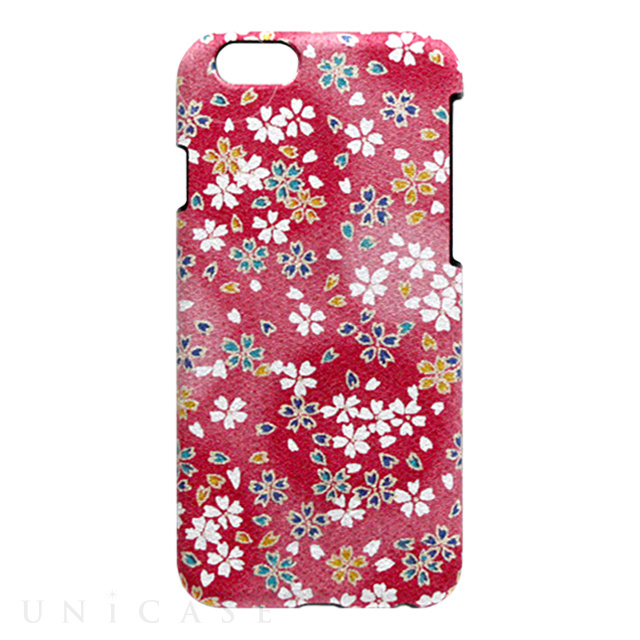 ef691f8cfe iPhone6s/6 ケース】小紋ケース 舞桜<桃> Re-Concept LLC.   iPhone ...
