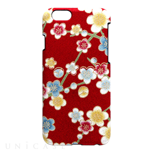 bf3bd041b2 iPhone6s/6 ケース】小紋ケース 梅枝<赤> Re-Concept LLC.   iPhone ...
