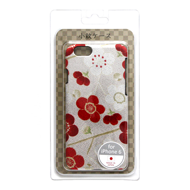 c4701f9700 iPhone6s/6 ケース】小紋ケース 梅花<白桃> Re-Concept LLC.   iPhone ...
