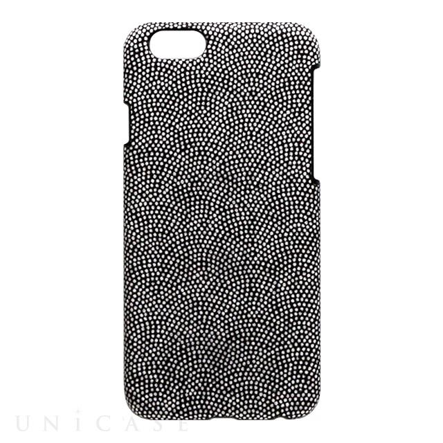 fcf98af6d3 iPhone6s/6 ケース】小紋ケース 鮫小紋<黒> Re-Concept LLC.   iPhone ...