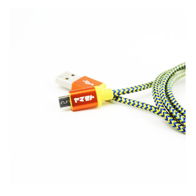 POP Cable Micro USB - ORANGE/YELLOWサブ画像