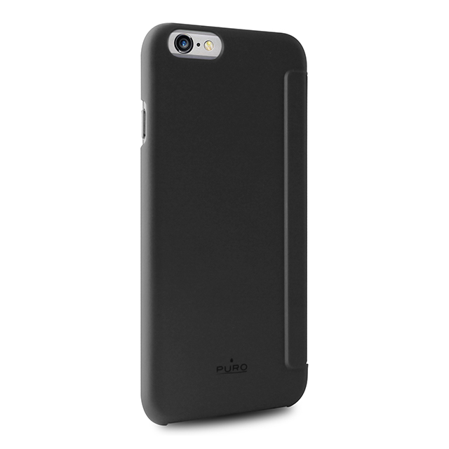 【iPhone6s/6 ケース】Booklet case Quick View & Answer call function (BLACK)サブ画像
