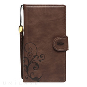 【マルチ スマホケース】Multi type L SMART COVER NOTEBOOK (Dark Brown)