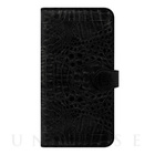 【iPhone6s Plus/6 Plus ケース】CAIMAN Diary Black for iPhone6s Plus/6 Plus